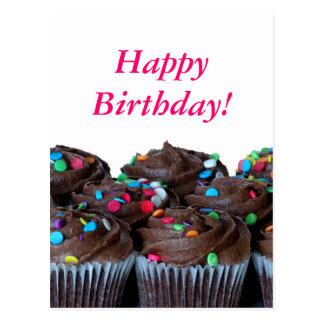 Carte postale de joyeux anniversaire de petits gât