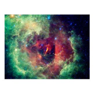 Carte postale de la nébuleuse NGC2237