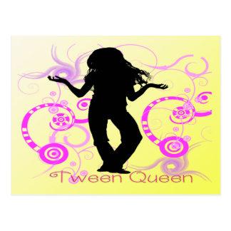 Carte postale de la Reine de Tween