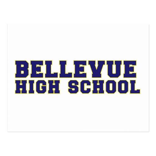 Carte postale de lycée de Bellevue