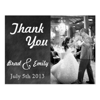 Carte postale de Merci de mariage de tableau