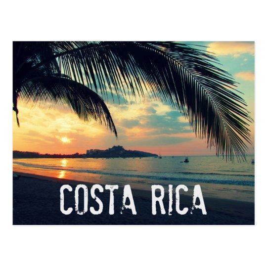 Carte Postale De Plage Du Costa Rica