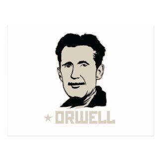 Carte postale de portrait de George Orwell