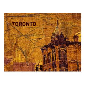 Carte postale de rue de reine de Toronto