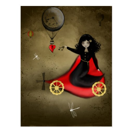 Carte postale de Steampunk Valentine