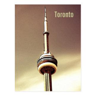 Carte postale de tour de NC de Toronto