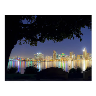 Carte postale d'horizon de San Diego