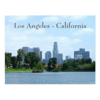 Carte postale du centre de vue de Los Angeles !