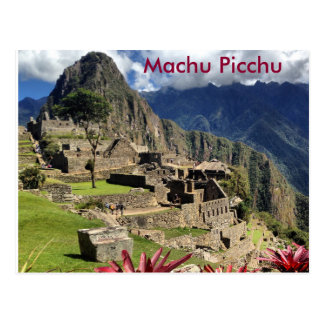 Carte postale du Pérou