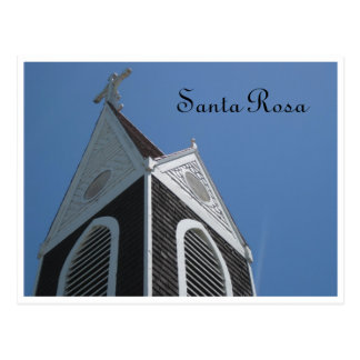 Carte Postale Église - Santa Rosa, CA
