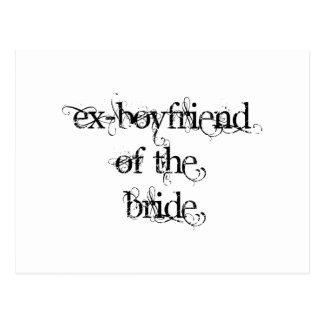 Carte Postale Ex-Ami de la jeune mariée