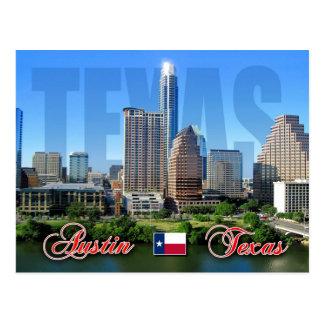 Carte Postale Horizon d'Austin du centre, le Texas