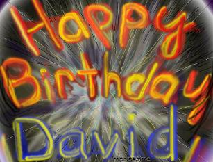 Cadeaux Joyeux Anniversaire David Zazzle Ca