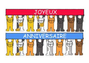 Cadeaux Joyeux Anniversaire Francais Zazzle Ca