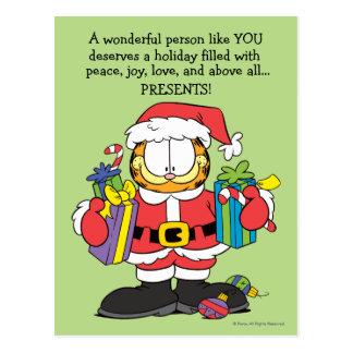 Carte Postale La personne merveilleuse vous aiment