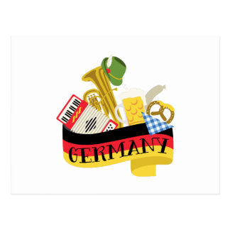 Carte Postale L'Allemagne