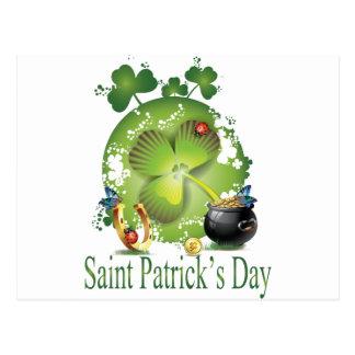 Carte Postale Le jour de Patrick de saint