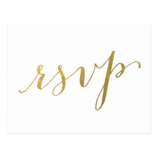 Carte postale l'épousant du charme   RSVP de