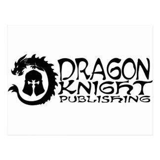 Carte Postale Logo de édition de Dragon-Chevalier