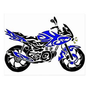 Cartes Postales Tatouage Moto Originales Zazzle Ca
