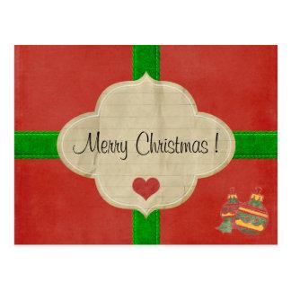 Carte postale Noël édition limitée