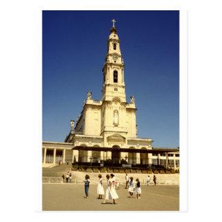 Carte Postale Notre Madame de tombeau de Fatima, Lisbonne