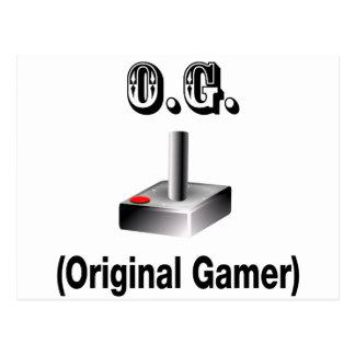 Carte Postale O.G. Gamer original