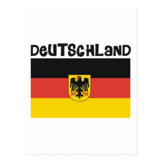 Carte Postale Produits et conceptions du Deutschland Allemagne !