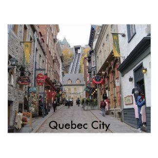 Carte Postale Rue de Québec