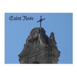 Carte Postale Saint Santa Rosa rose, CA