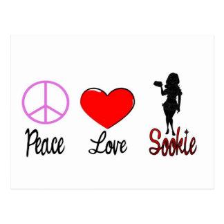 Carte Postale sookie d'amour de paix