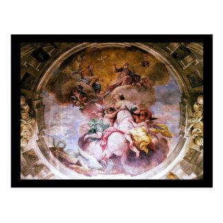 Carte postale - St Margherita d'Antioch, Florence