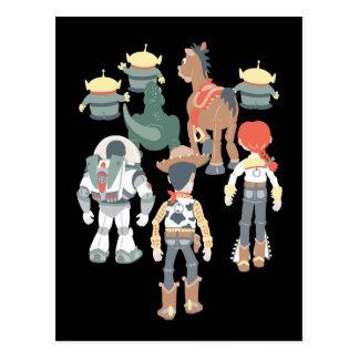 Carte Postale Tour 6 d'amis de Toy Story | Toy Story