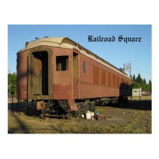 Carte Postale Train - Santa Rosa, Ca