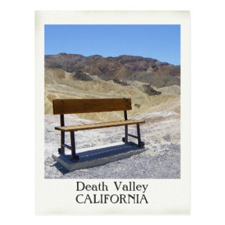 Carte postale très belle de Death Valley !