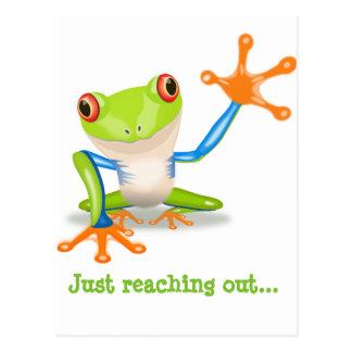 Carte pour notes de Froggie