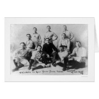 Carte Première équipe 1897 du base-ball