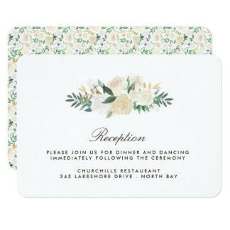 Carte romantique de réception de région boisée carton d'invitation 8,89 cm x 12,70 cm