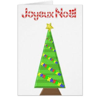 Carte Sapin de Noël2 Card