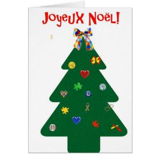 Carte Sapin de Noël Card