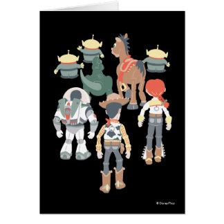 Carte Tour 6 d'amis de Toy Story | Toy Story