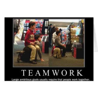 Carte Travail d'équipe