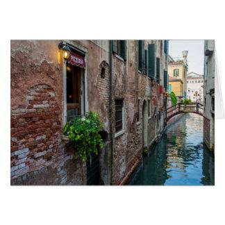 Carte vénitienne de canal