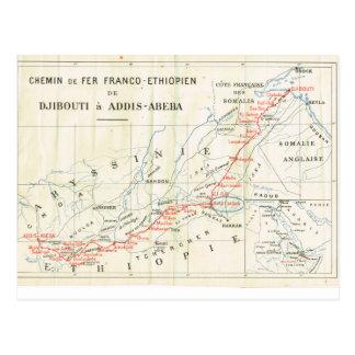 Carte vintage, 1920, Français, Chemin de Fer, Carte Postale