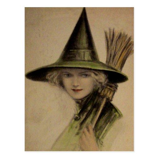Carte vintage de Halloween Cartes Postales