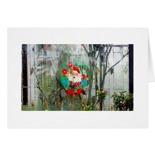 Carte vintage de Père Noël
