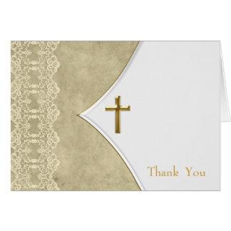 Carte Voiture ene ivoire de Merci de baptême de baptême