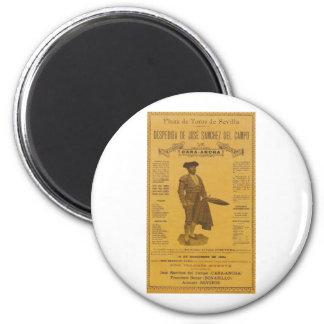 Cartel para la despedida del torero - Seville 2 Inch Round Magnet