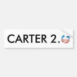 Carter 2.0 bumper sticker