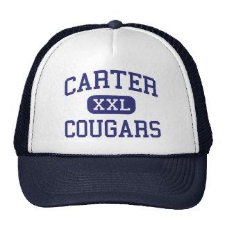 Carter - Cougars - Junior - Arlington Texas Trucker Hat